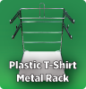 Metal Rack for Plastic T-Shirt Bags