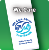 We Care Stock Bag