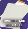 Divider Card and Label