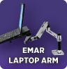 EMAR Mounting Arm, Tray & Cradle