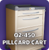Q2-450 Pill Card Cart - Item #2102