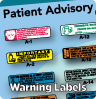 Patient Advisory Labels
