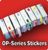 OP-Series Time Pass Stickers