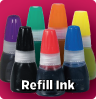 Refill Ink for Stamps & Daters